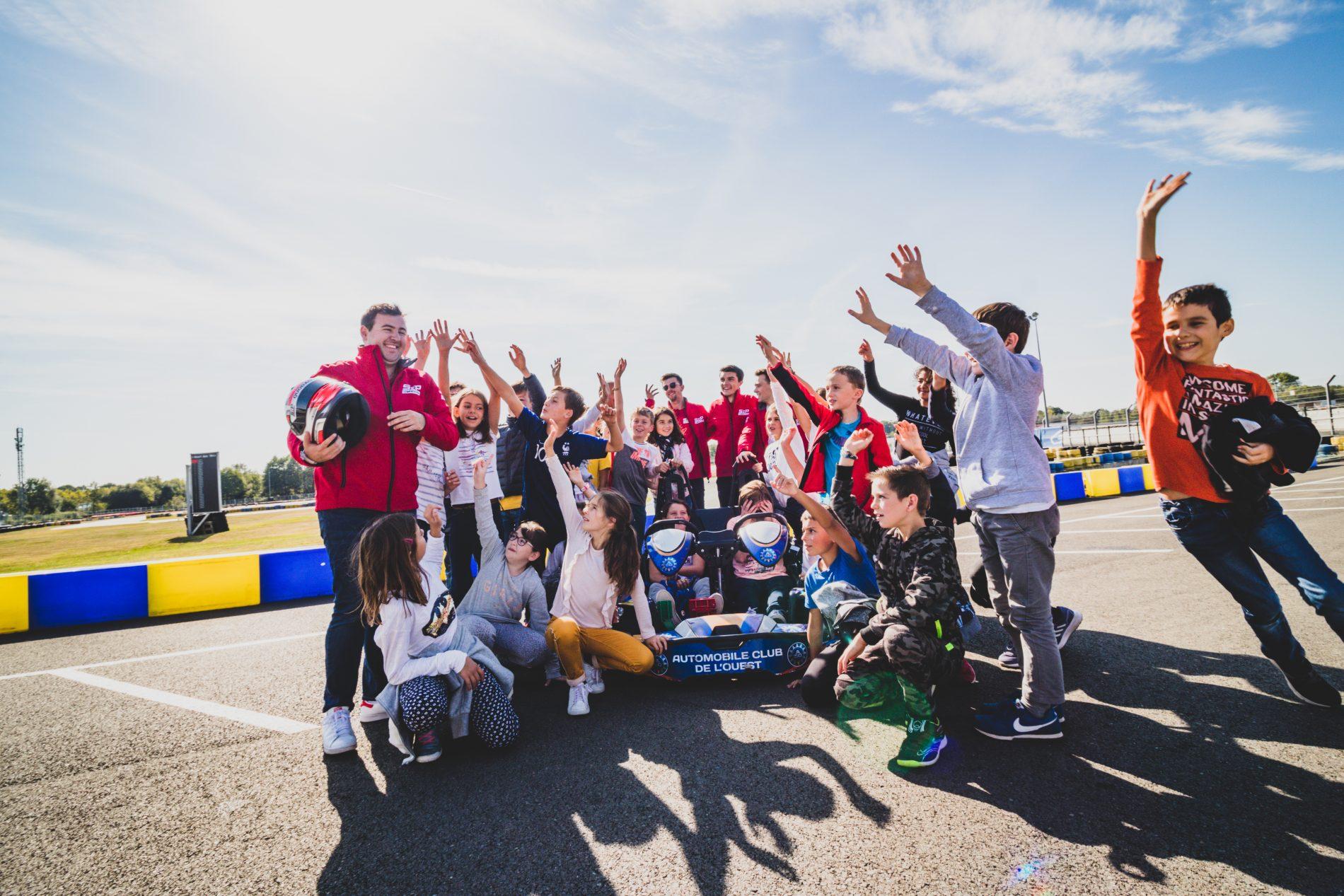 Les écoles au karting